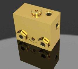 Пропорциональные тормоза выпуска направленного гидравлические электроклапан WYS-1 H