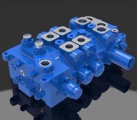 Китай Multi - способ направленного гидравлический клапан 4 DP20GL-2 для кранов поставщик