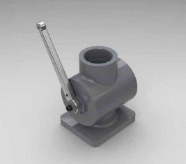 Выключить направленная гидравлическая QYG40 клапан для бульдозеров, погрузчиков, скребки