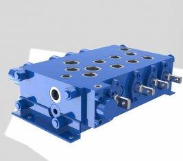 Комбинаторные Кран управления направленного гидравлического клапана QYSF18-15