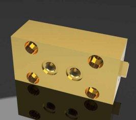 SO1 Строительство направленного гидравлическим клапаном замок для мощения машин