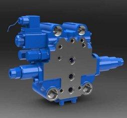 SXHCF10L вращающиеся буфера направленного гидравлический клапан двигатель грейдера