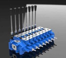 Гидравлические помощи комбинированных Spool направленного управления клапан HCD6