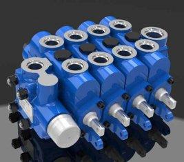Китай Инженерные Multi способом гидравлического направленного клапан 4GCJX-G12L поставщик