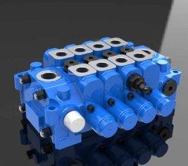 Гидравлический клапан управления встроенным Multi 4GCJX-G18L для техники