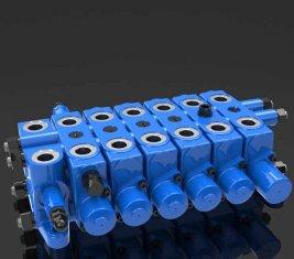 Мульти - способ гидравлической помощи комбинации направленного управления клапан DL