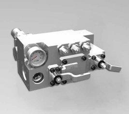 420 / 400 Бар ручной воды направленного управления клапан CLSF38-1