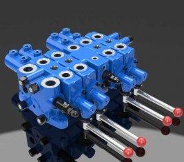 Добыча гидравлический клапан управления Check Multi Directional DLYS